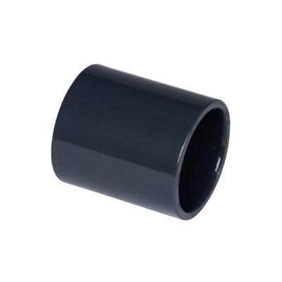 PVC Klebemuffe Ø50mm PN 10 grau