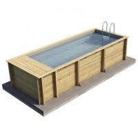 Procopi Holzpool Pool'n Box 5 x 2 Meter