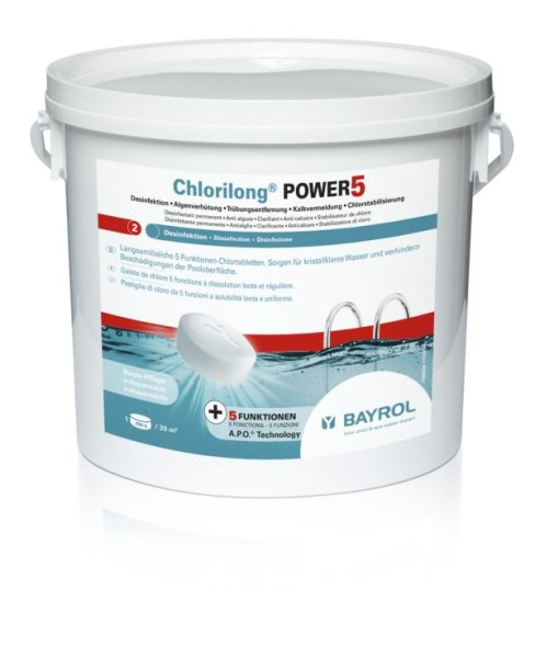 Bayrol Chlorilong Power 5 - mit Clorodor Control® Kapsel