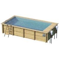 Procopi Urban Pool XL 6.55 x 3.50 m Holzschwimmbecken