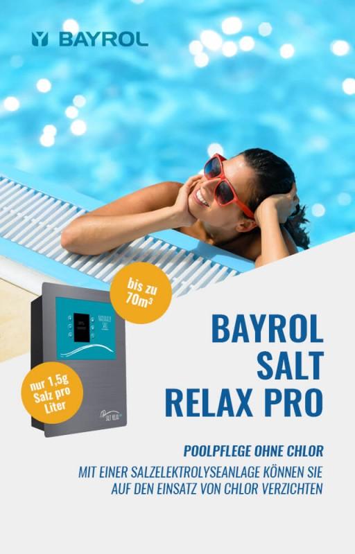 Bayrol Salt relax Pro Salzelektrolyse