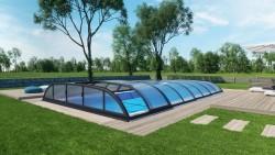 Poolüberdachung Dallas IQ-LINE 6,40 x 4,00 x 0,82 m