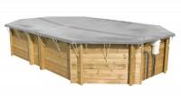 Procopi Sicherheits- und Winterabdeckung für Holzbecken
