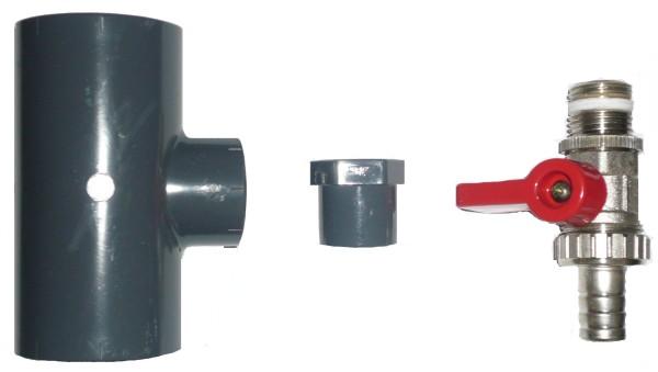 OKU-Absorber Entleerungsset Ø 50mm