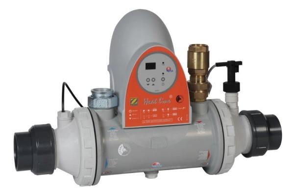 Zodiac Wärmetauscher PSA Heat Line 70 kW mit Steuerung und Pumpe